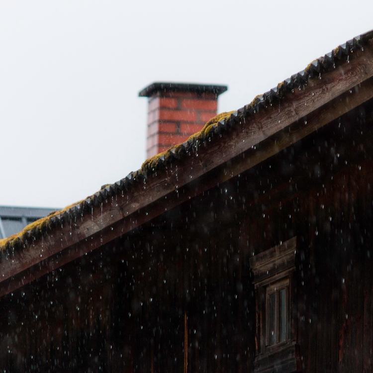 rain-falling-over-mossy-roof