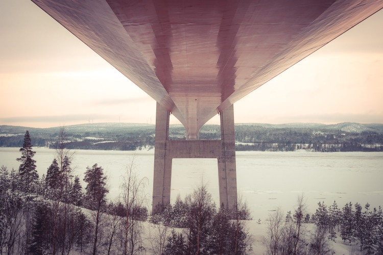 under-the-high-coast-bridge